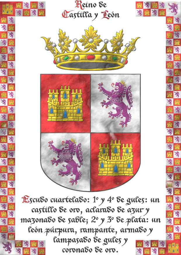 Castilla y León sobre pergaminio. Fernández de Córdoba y Carrillo ... 833f720e3bea