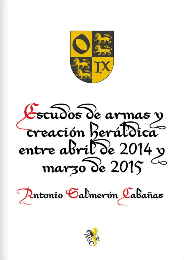 Coat of arms and heraldic creation, April 2014 - March 2015