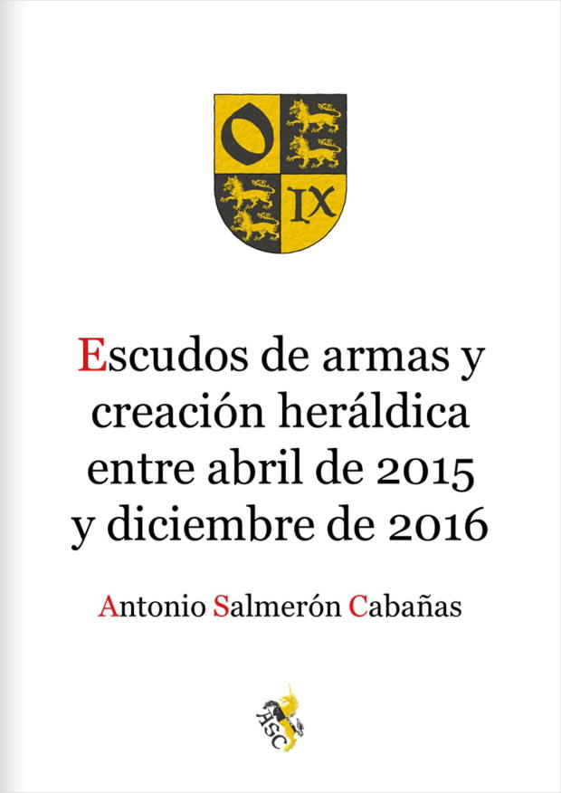 Coat of arms and heraldic creation, April 2015 - December 2016